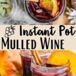New Instant Pot Mulled Wine Pinterest Image middle design banner