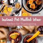 Instant Pot Mulled Wine Pinterest Image Middle Banner