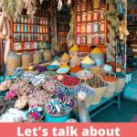 Let's Talk About Moroccan Cuisine Pinterest Image