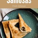 Samosas From Djibouti Pinterest Image top tan banner