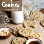 Maple Cookies Pinterest Images top left banner