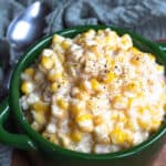 Homemade Creamed Corn in the Instant Pot