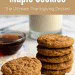 Maple Cookies Pinterest Image Top Banner
