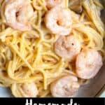 Homemade Bang Bang Shrimp Pinterest Image bottom black banner