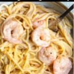 new Instant Pot Bang Bang Shrimp Pinterest Image top black banner