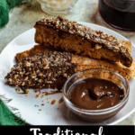 Traditional Italian Biscotti Pinterest Image Bottom Black Banner