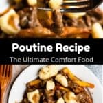 Canadian Poutine Pinterest Image middle black banner