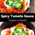 Homemade Fata: Spicy Tomato Sauce Pinterest Image