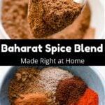 Baharat Spice Blend Pinterest Image middle black banner