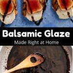 Balsamic Glaze Pinterest Image middle black banner