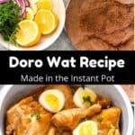 Instant Pot Doro Wat Pinterest Image middle black banner