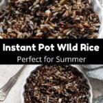 Wild Rice Pinterest Image middle black banner