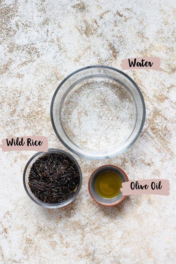 instant pot wild rice ingredients