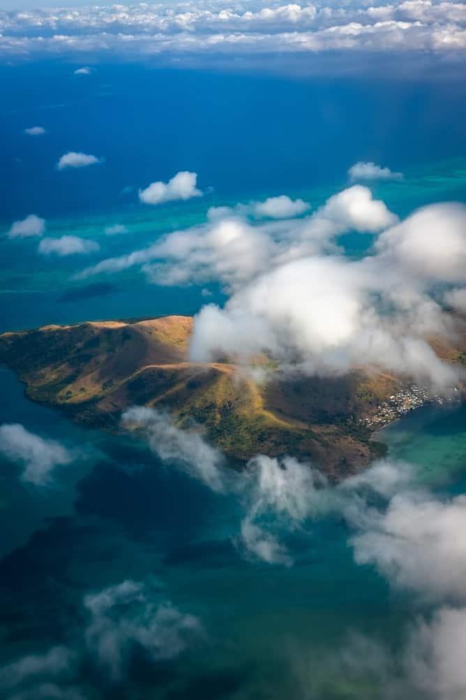 Fiji from the sky