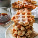 The Most Delicious Liege Waffles from Belgium