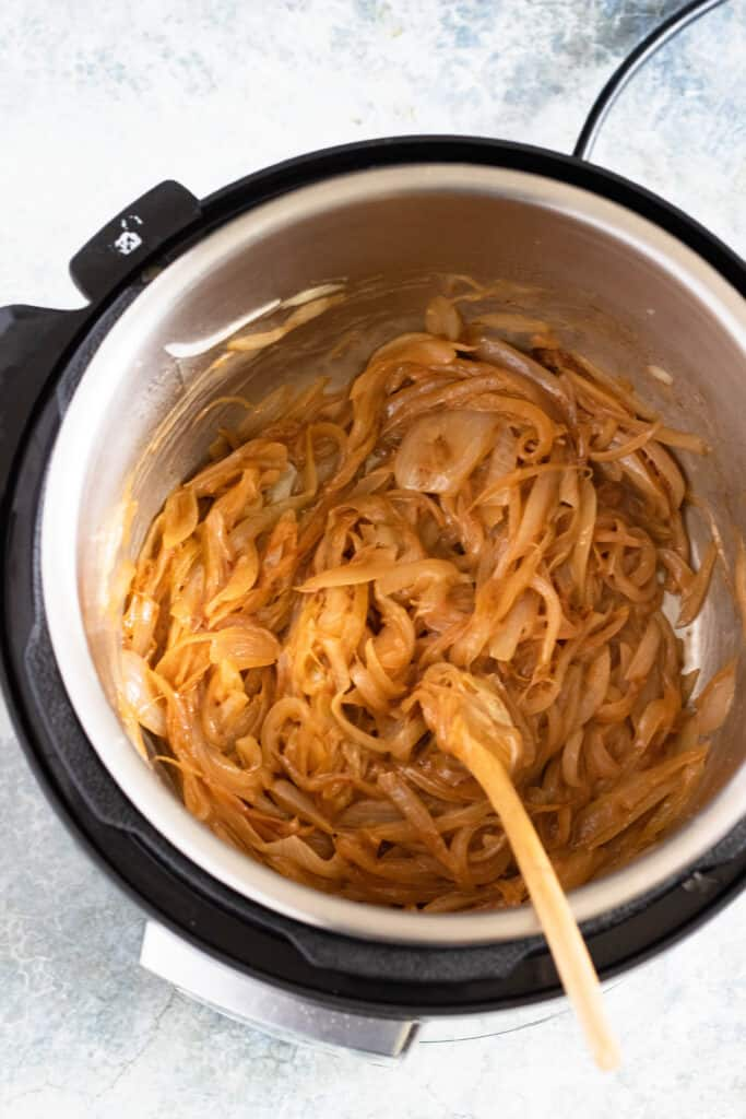caramelized onions in instant pot