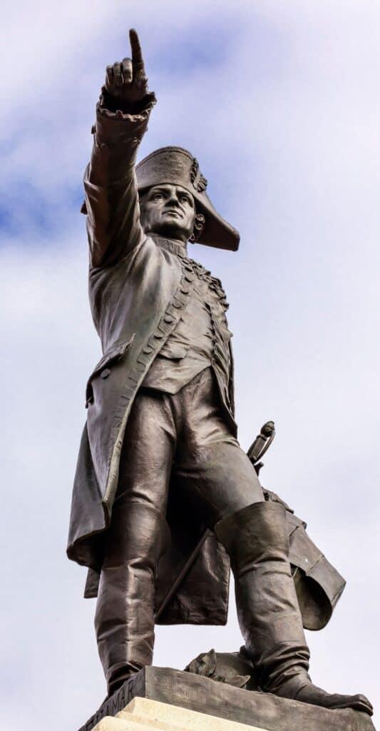 Rochambeau statue