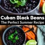 Delicious Cuban Black Beans middle black banner
