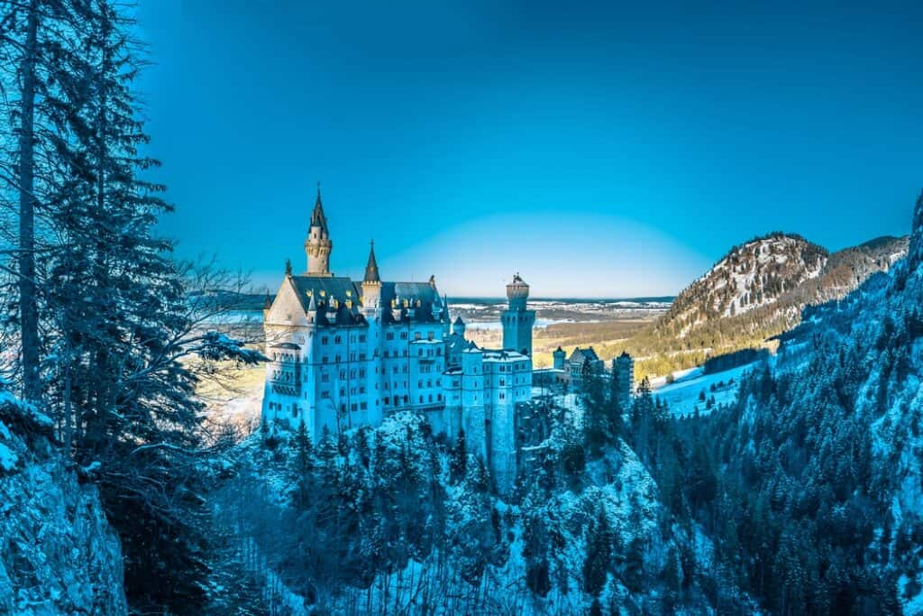 Castle on a mountain