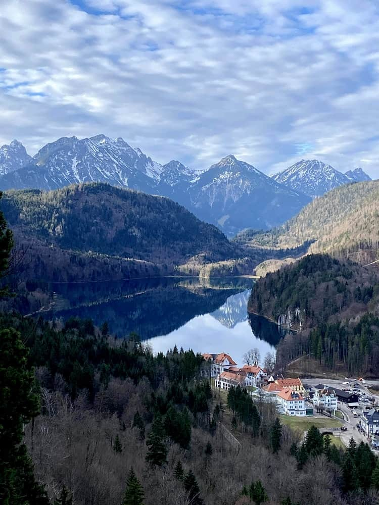 Town in Mountains in Germany