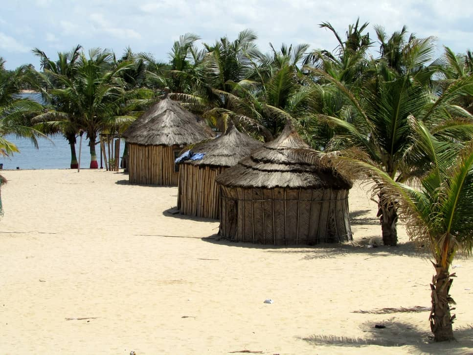 Ghanaian huts