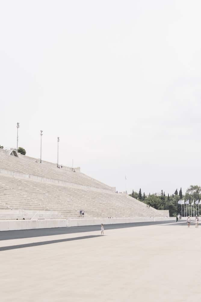 First olympic stadium in athens