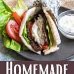 Gyro Meat Recipe Pinterest Image bottom design banner