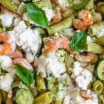 Shrimp and Ricotta Pasta Bake