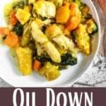 Oil Down From Grenada Pinterest Image bottom design banner
