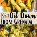 Oil Down From Grenada Pinterest Image middle design banner