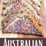 Delicious Fairy Bread Pinterest Image bottom design banner