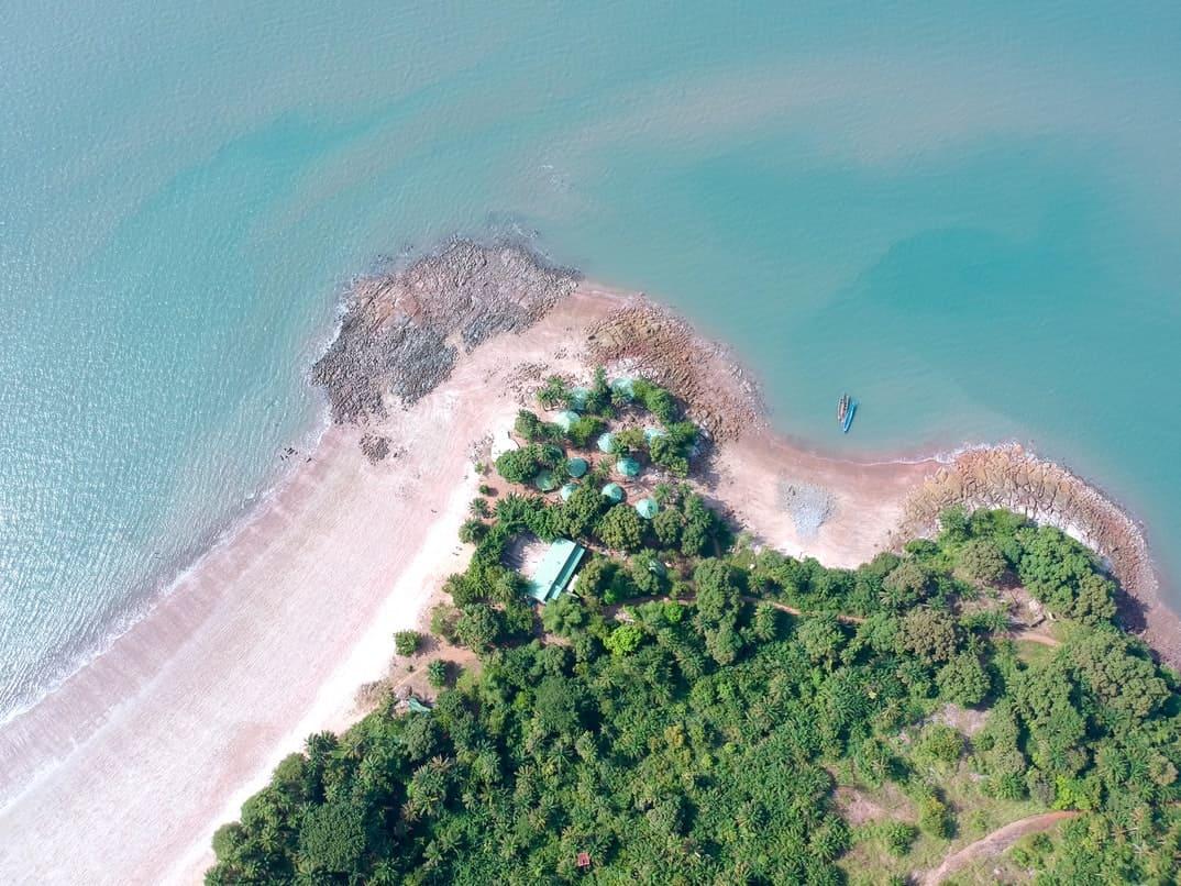 Coastline of Guinea