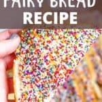 Delicious Fairy Bread Pinterest Image top design banner
