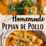 Pepian de Pollo Pinterest Image middle design banner